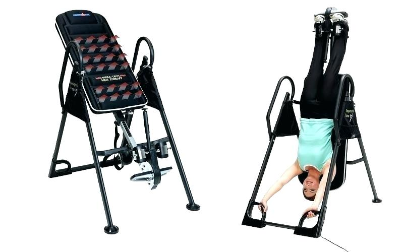 inversion table therapy traction heat chiropractor